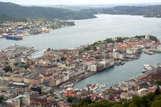 Norway. Bergen. Stock Photo