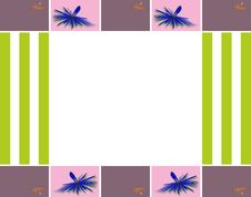 Free Abstract Geometric Frame Royalty Free Stock Image - 32468686