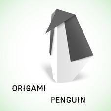 Free Penguin Origami Royalty Free Stock Photos - 32469028
