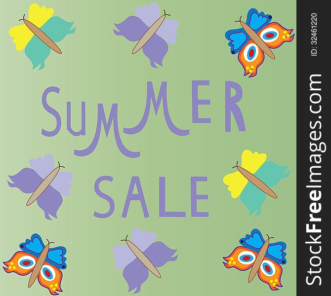 Summer sale template,  summer fashion sale,  summe