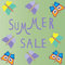 Free Summer Sale Template,  Summer Fashion Sale,  Summe Stock Photo - 32461220