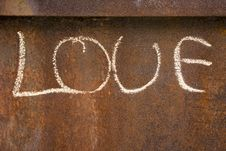 Free Rusty Love Stock Photos - 32474863