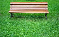 Free Park Bench Royalty Free Stock Photo - 32482855