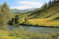 Free Mountain River In East Kazakhstan Stock Photography - 32491012