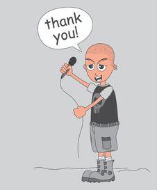 Free Cartoon Guy Illustration Stock Photo - 32492220