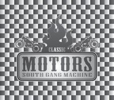Free Old Motorcycle Label Art Royalty Free Stock Images - 32492579