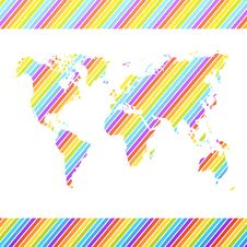 Free World Map. Vector Illustration Stock Image - 32499411