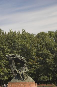 Free Chopin Monument Royalty Free Stock Images - 3251059