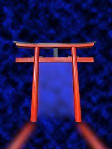 Free Oriental Path Royalty Free Stock Image - 3251826