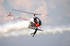 Free Helicopter Flyer Royalty Free Stock Photos - 3252388