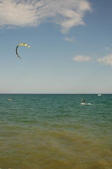Parachute Sailing Royalty Free Stock Images