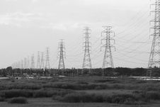Free Power Lines Stock Photography - 3252402