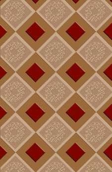 Free Inlayed Ornamental Tiles Stock Image - 3252911