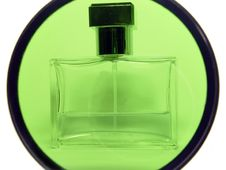 Container With Perfum Stock Photography