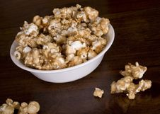 Free A Bowl Of Carmel Corn Stock Image - 3253401