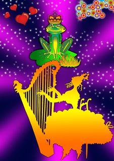 Frog Prince Royalty Free Stock Image