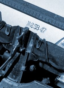 Free Typewriter Stock Image - 3253711