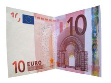 Free Money Currency Euro Isolated Royalty Free Stock Photography - 3254207