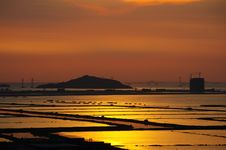 Free Sunset At West Shenzhen Stock Image - 3254331