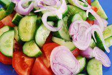 Free Fresh Greek Salad Royalty Free Stock Photography - 3255297