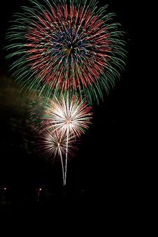 Free Colorful Celebration Fireworks Stock Photos - 3256003