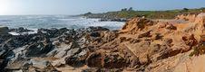 Free Panorama Of California Coast Stock Photo - 3256520