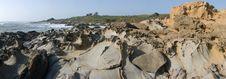 Free Panorama Of California Coast Stock Photography - 3256562