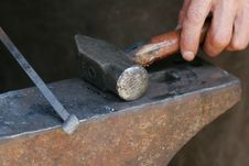 Free Blacksmith S Tools Stock Photo - 3256780