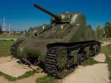 Old Tank Stock Image