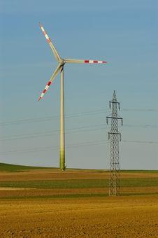 Free Windmill No.1 Royalty Free Stock Image - 3258206
