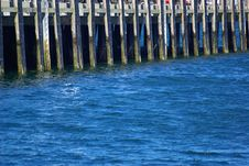 Free Pier On The Water Stock Photography - 3258762