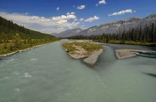 Kootenay River Royalty Free Stock Photography