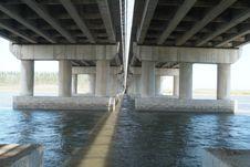 Free Under The Bridge Royalty Free Stock Image - 3259186