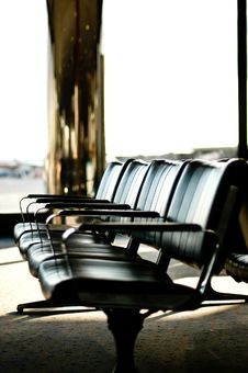 Free Seating In Airport Lounge Stock Image - 3259231