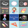 Free All Set For School Royalty Free Stock Photos - 32503728