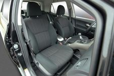 Front Seats Stock Photo