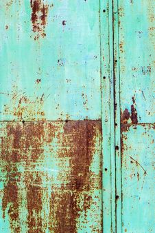 Free Scratched Rusty Damage Metal Pane, Background Royalty Free Stock Photography - 32501977