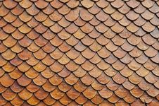 Free Orange Roof Texture Stock Photos - 32503413