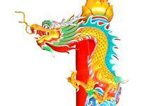 Free Dragon Statue Stock Photo - 32504690