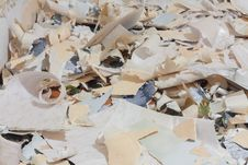Paper Waste For Recycle Royalty Free Stock Images