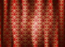 Pattern Curtains Wallpaper