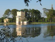 Free Peterhof.Tsaritsyn Pavilion Royalty Free Stock Photography - 32536907