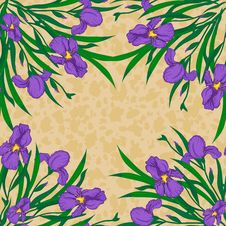 Free Vector Floral Background Royalty Free Stock Photo - 32545645