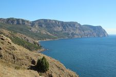 Free Crimean Mountains Near Balaklava, Sevastopol Stock Photos - 32549363