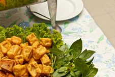 Free Fried Tofu Stock Images - 32549534