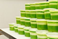 Free Many Green Dessert Stock Images - 32549664