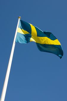 Free Swedish Flag Stock Photography - 32554412