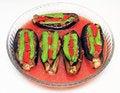 Free Stuffed Eggplant Stock Photography - 32568902