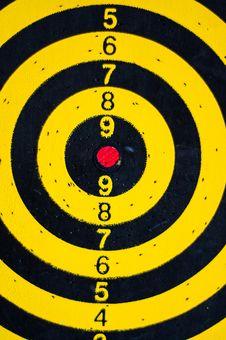 Free Darts Board Stock Image - 32561451