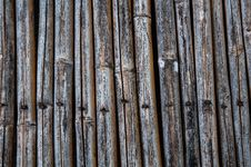 Free Old Bamboo Fence Stock Photography - 32561592